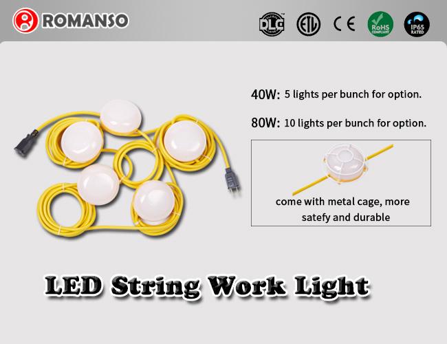 路漫索推出新产品——LED串灯