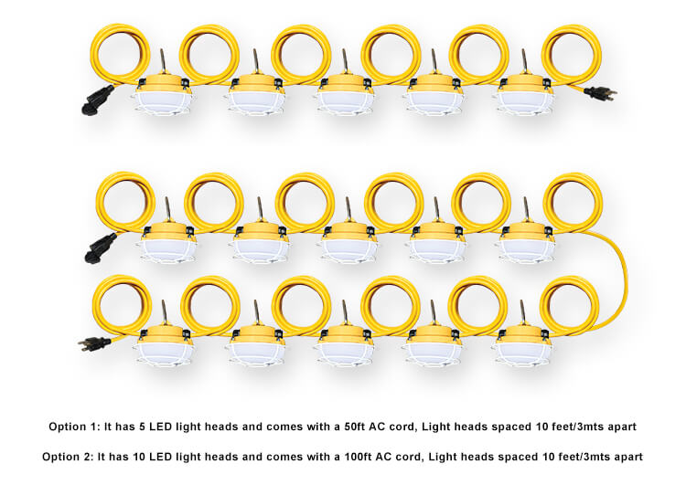 LED String Work Light H5-4