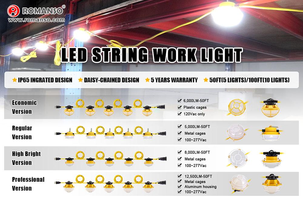 为什么选择路漫索LED工作串串灯?